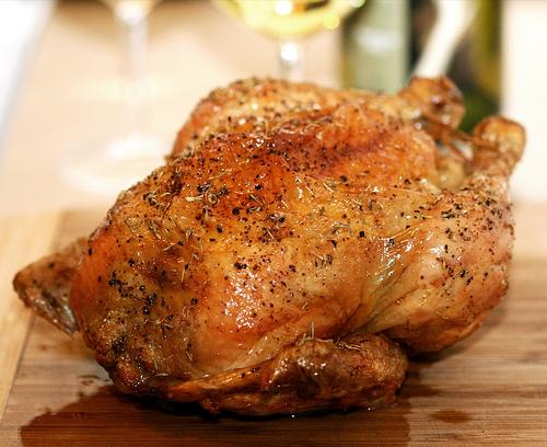 Thomas Keller's roast chicken