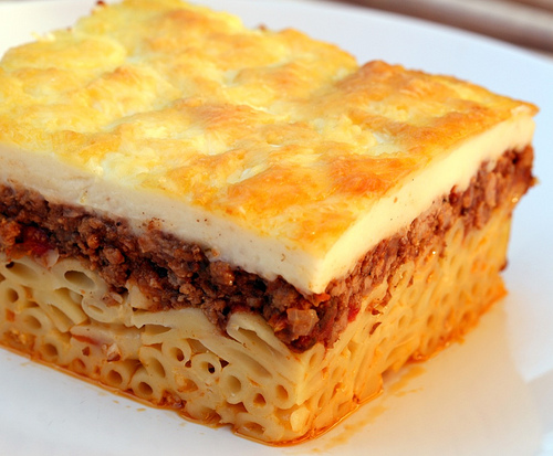 the second pancake | pastitsio